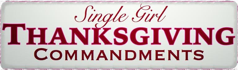 Single Girl Thanksgiving