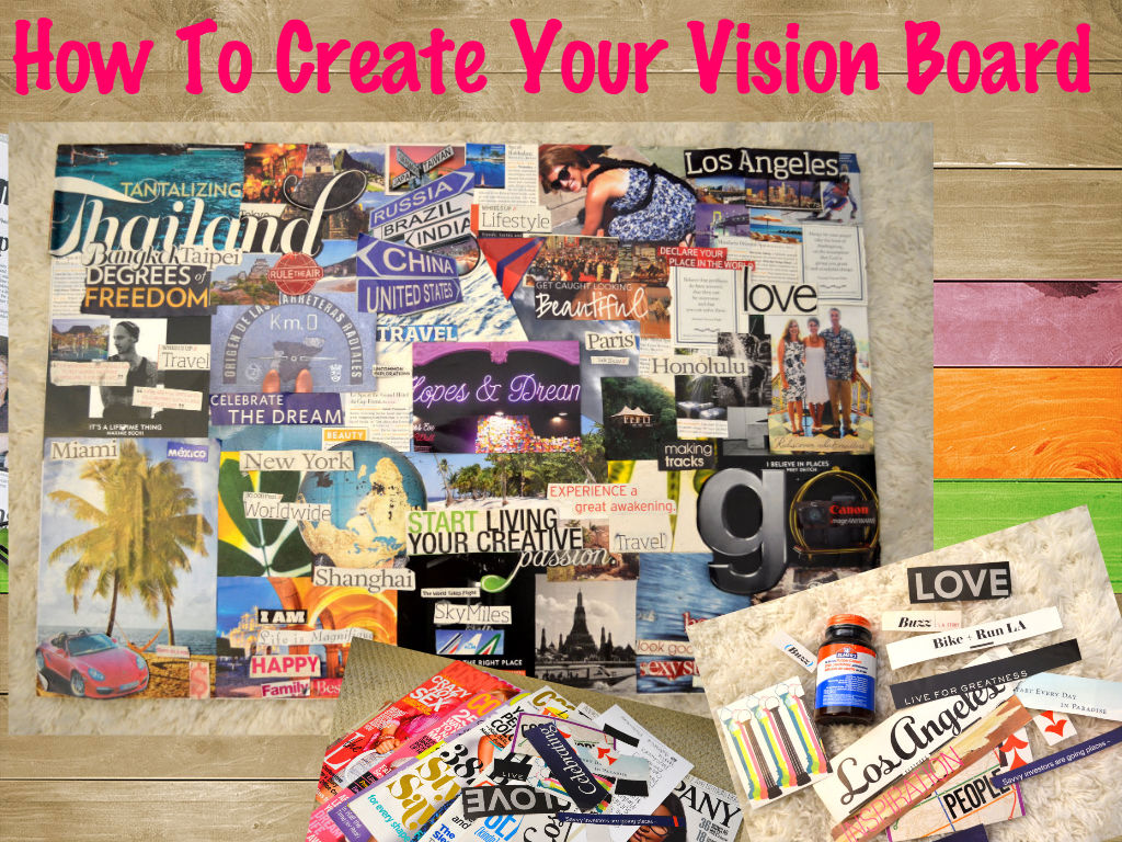 The Single Diaries Step by Step Guide to Vision Board Building
