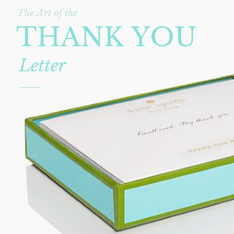 The Art Of The Thank You Letter - Toast Meets Jam