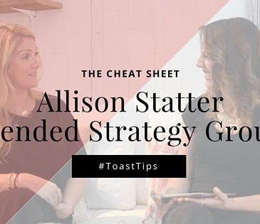 Entrepreneur Cheat Sheet | Allison Statter