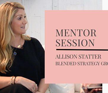 Allison Statter | Mentor Session