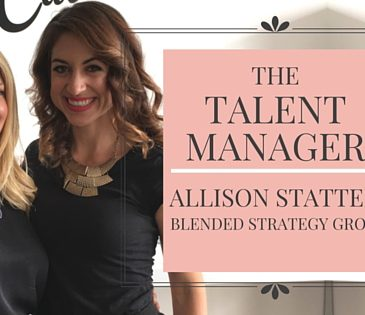 The Talent Manager | Allison Statter