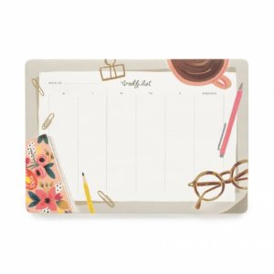 desktop weekly planner