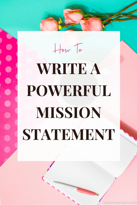 how to write a mission statement