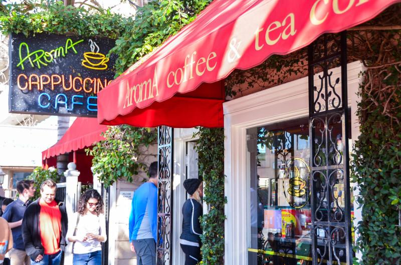 Los Angeles Bucket List | Moving to LA | Aroma Cafe